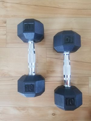 10 Pounds Dumbells Set for Sale in Detroit, MI