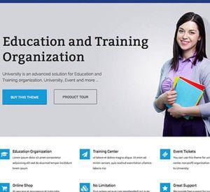 ONLINE SCHOOL WEBSITE DESIGN for Sale in Los Angeles, CA