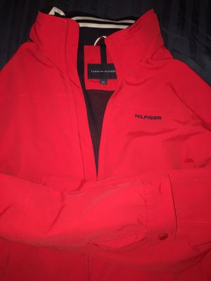 Red Tommy Hilfiger jacket for Sale in Irving, TX