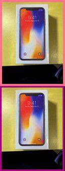 iPhone 10 X 256 GB Brand new Unlocked any service provider ////fast buy at 657- 2I4- 33I6-////