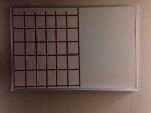 4ft X 3ft white Board for Sale in Caledonia, MI