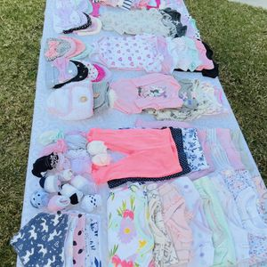 0-3 months Gently used baby clothes for Sale in Santa Ana, CA