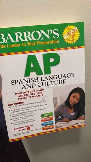 AP Spanish book for Sale in Los Angeles, CA