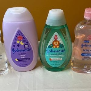 Johnson's Baby Oils, Lotion and Shampoo (Bundle of 4) for Sale in Springdale, MD