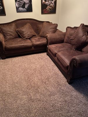 Couches for sale come get them 225 for Sale in Murrieta, CA