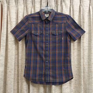 Vans Pearl Snap Plaid Shirt for Sale in Bartlett, TN