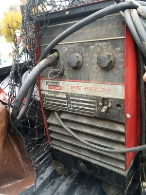 Lincoln welder matic 250 for Sale in Perris, CA