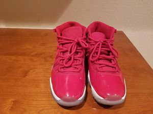 Sz 12 all red Jordan's 11 used 9/10 condition for Sale in Fairfield, CA