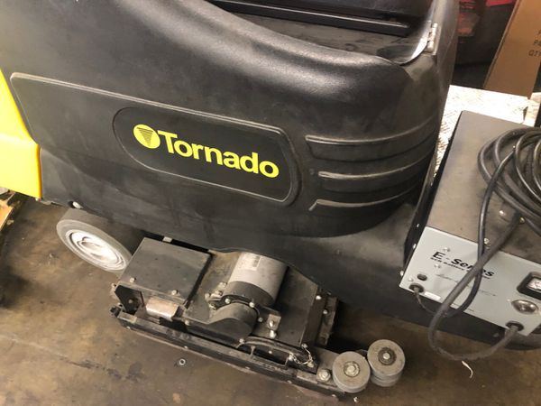 Tornado Floor Scrubber , shop floor cleaner , small compact unit