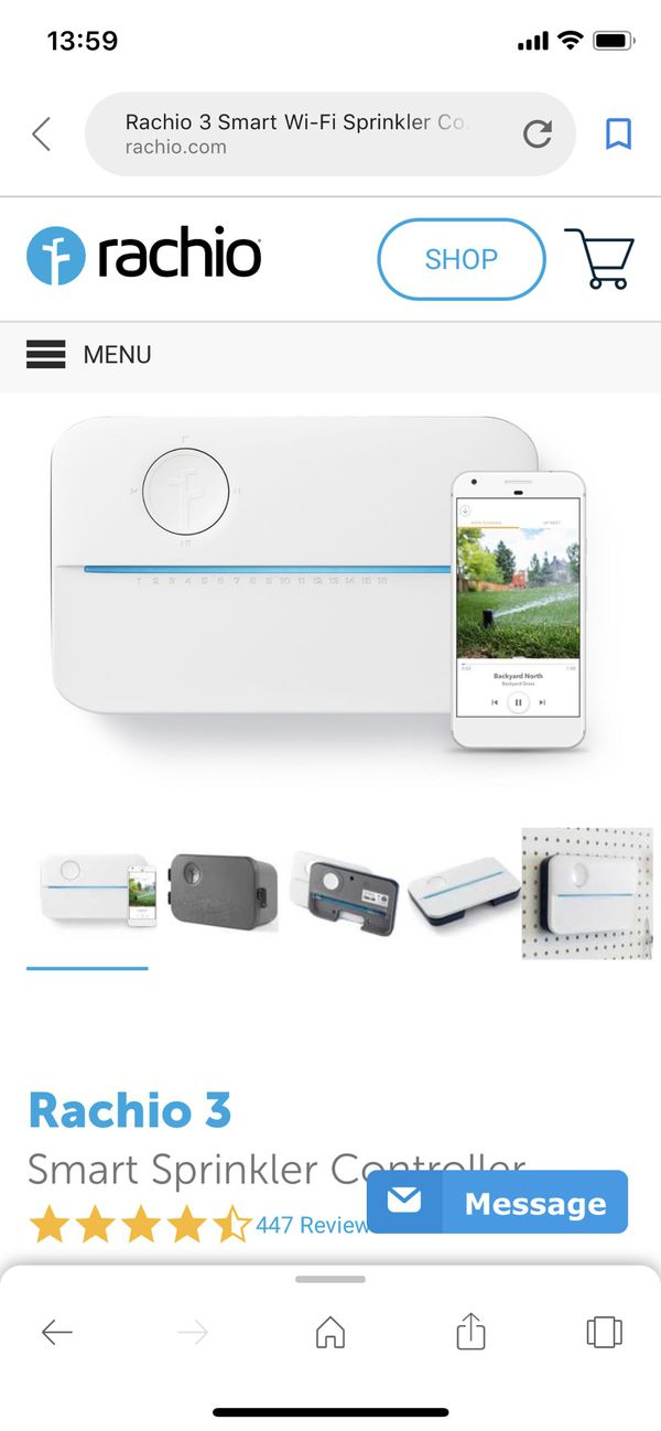 Rachio 3 16 Zone Smart Sprinkler Control