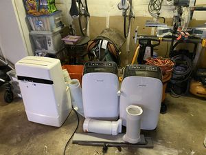 3 portable AC units for sale for Sale in Renton, WA