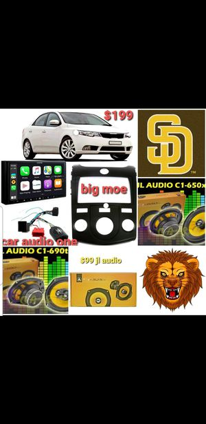 Car audio Package for Sale in San Diego, CA