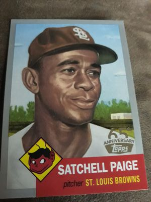 Satchell Paige baseball card for Sale in West Valley City, UT