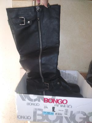 Ladies Bongo Black boots. Size 10 for Sale in Willingboro, NJ