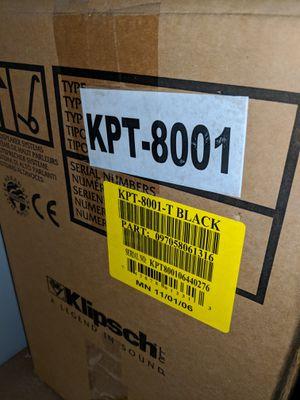 Klipsch KPT 8001 speakers set of 2 NEW for Sale in Long Beach, CA