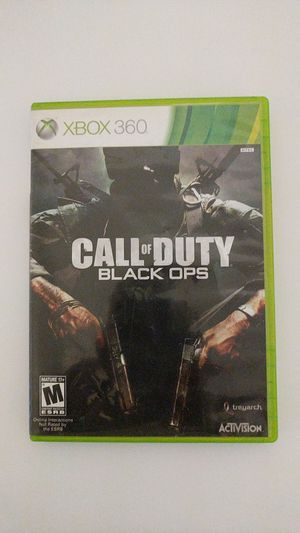 Cod black ops Xbox 360 for Sale in Tallahassee, FL