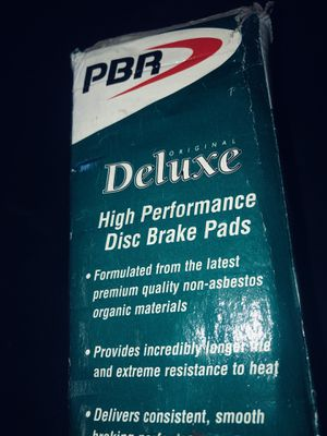 PBR original deluxe high-performance disc brake pads for Sale in Las Vegas, NV