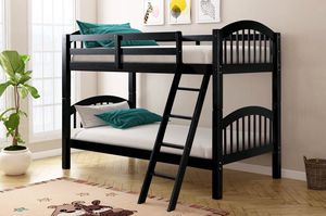Black Twin Over Twin Bunk Bed | HH11 for Sale in Austin, TX