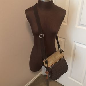 Key-Per Fossil Quilted Crossbody Bag for Sale in Humble, TX