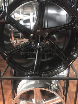 Giovanna 24 Black 6 Lug Chevy for Sale in Dallas,  TX