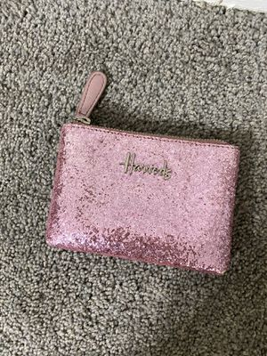 Harrods Glitter wallet/coin bag for Sale in Towson, MD