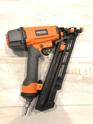 """Ridgid 15 G 2-1/2"""" Angled nail gun for Sale in UPR MAKEFIELD, PA"""