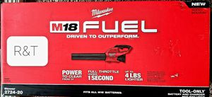 Milwaukee M18 FUEL 120 MPH 450 CFM 18-Volt Lithium-Ion Brushless Cordless Handheld Blower (Tool-Only) for Sale in Fullerton, CA