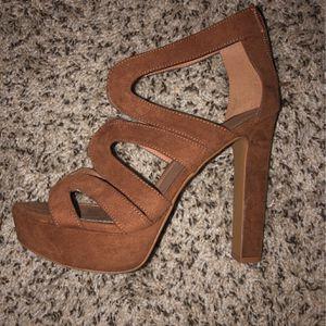 Brown Heels With Platform for Sale in Atlanta, GA