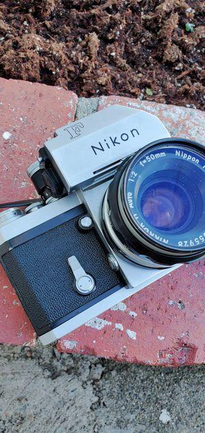 Nikon f film camera for Sale in Los Angeles, CA