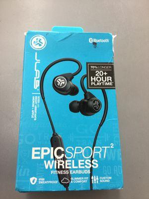 JLab Epic Sport 2 Wireless Bluetooth Fitness Earbuds for Sale in Auburn, WA