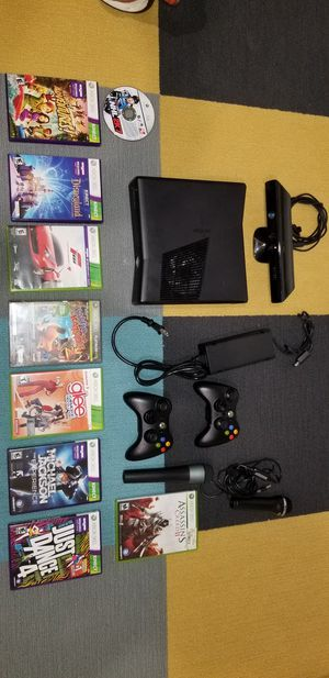 XBox 360 with games and attachments for Sale in Mableton, GA