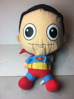 Large Superman Plush doll stuffed animal with extra large head for Sale in Tustin, CA