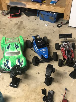 Rc lot brushless for Sale in Redlands, CA