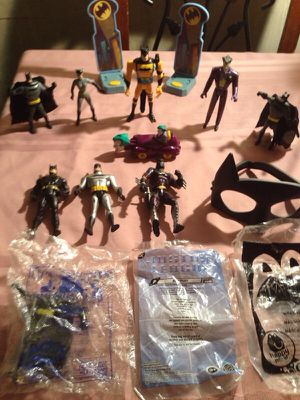 Batman, Joker, Catwoman- DC Comics- McDonald's Happy Meal /Burger King/Cartoon Network- Mixed Lot of 13 for Sale in Chicago, IL