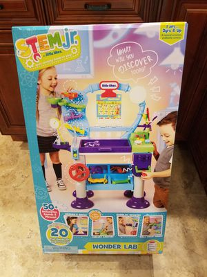 Little Tikes STEM Junior Wonder Lab Toy with Experiments for Kids for Sale in Garland, TX