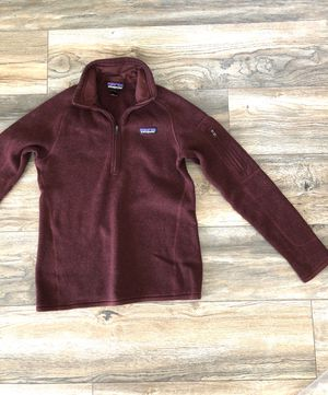 Maroon Patagonia Sweater Women for Sale in Salem, MA