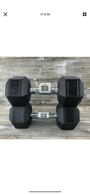 5s 10s 20s 30s 40s 50s dumbbells for sale for Sale in Ontario, CA