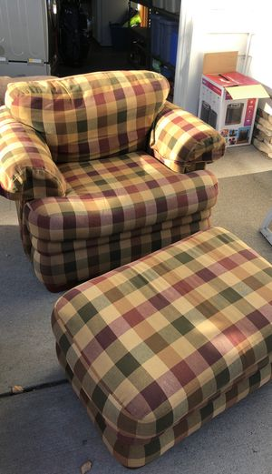 BroyHill Chair and Ottoman for Sale in Bend, OR