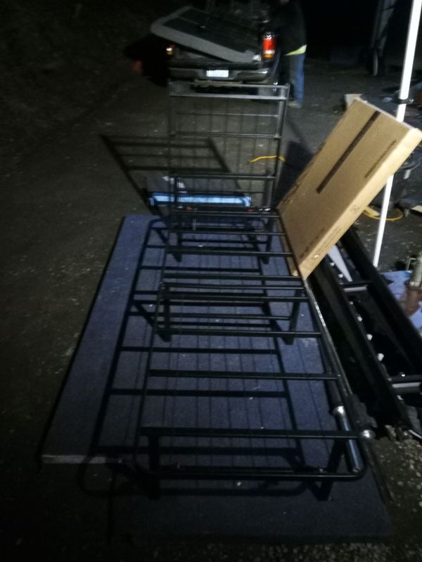 Twin Collapsible Compact Metal Bed Frame For Sale In
