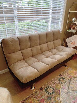 Beige couch/futon for Sale in San Diego, CA