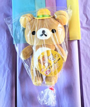New San-X RILAKKUMA Plushie w/ Hat for Sale in Palmdale, CA