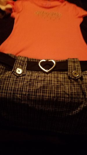 Girls pinky peach size 8 dress for Sale in Menifee, CA