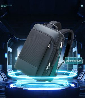 ANTI-THEFT, USB CHARGING EXPANDABLE WEEKEND TRAVEL WATER REPELLENT BACKPACK for Sale in Elk Grove Village, IL