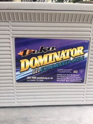 Gel extreme deep cicle battery ( delka dominator ) for Sale in La Grange Park, IL