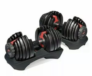 Brand new SelectTech Adjustable Dumbbell Bowflex quality 5-52.5 pounds. Awesome!! for Sale in Torrance, CA