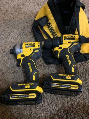 Dewalt drill set nuevos NO CARGADOR for Sale in Dallas, TX