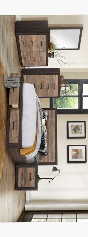 [SPECIAL] Miter Brown Storage Bedroom Set for Sale in Austin, TX