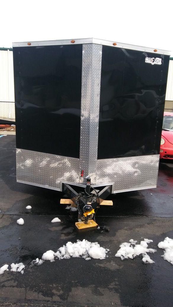 Enclosed Vnose Aluminum Trailers All sizes