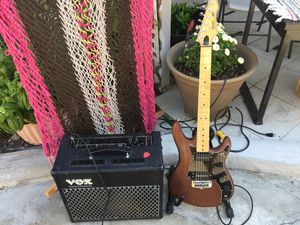 Patriot Electric Guitar & Vox Amplifier for Sale in Wenatchee, WA