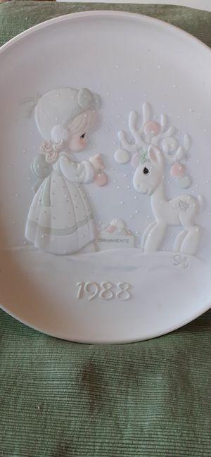 Precious Moments 1988 Rare Plate for Sale in Forest, VA